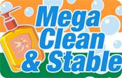 Mega Clean & Stable calling card