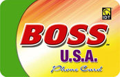 Boss USA calling card