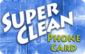 Super Clean Phone Card